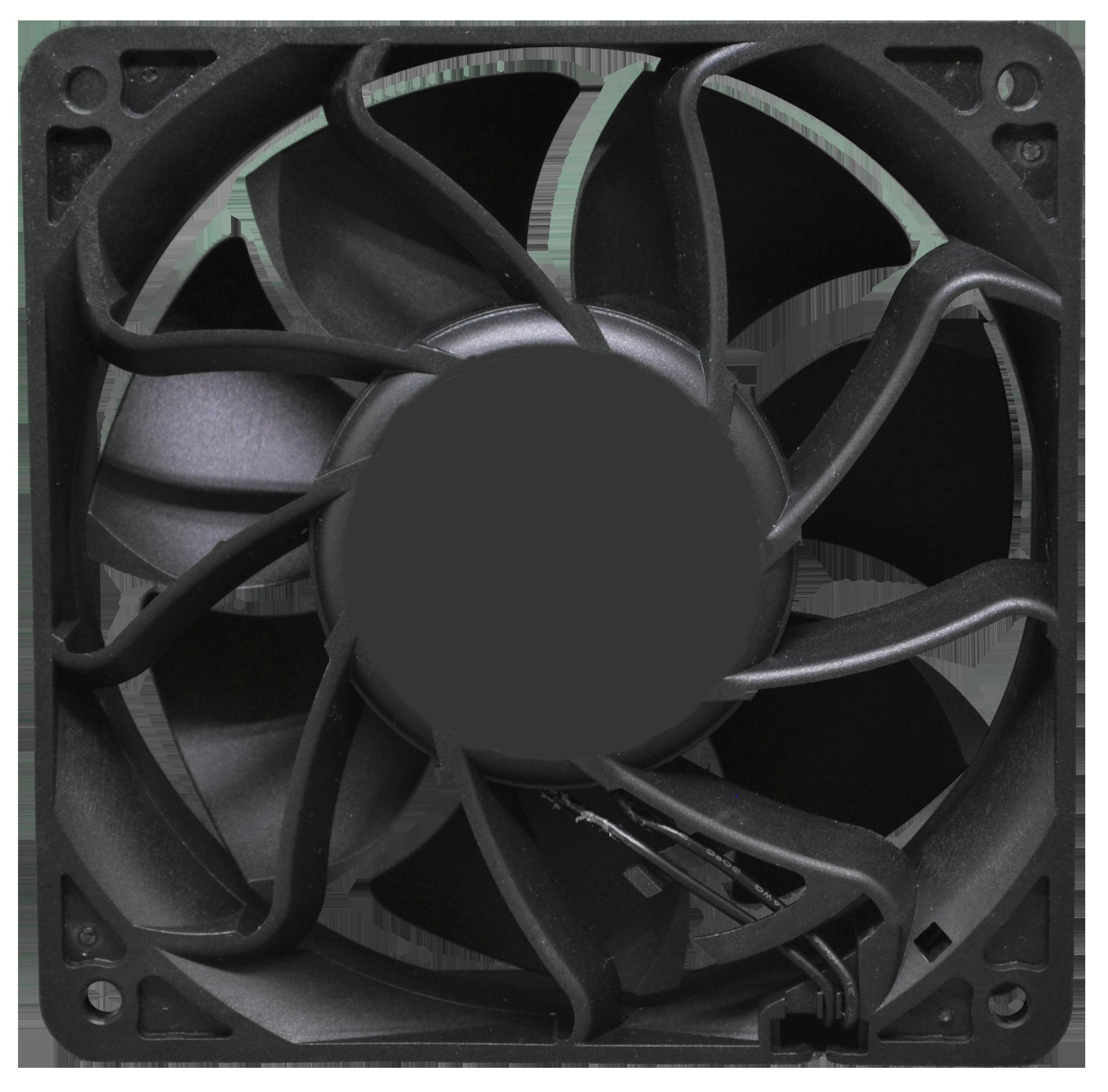 Compact fan VCT